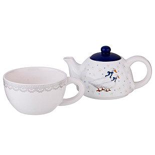 Чайный набор из 2 предметов Lefard «Чешский гусь»