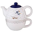 Чайный набор из 2 предметов Lefard «Чешский гусь», фото 2