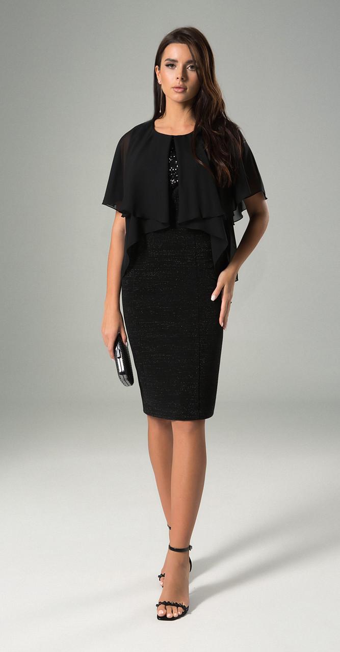 Платье MAX-742, черный, 48
