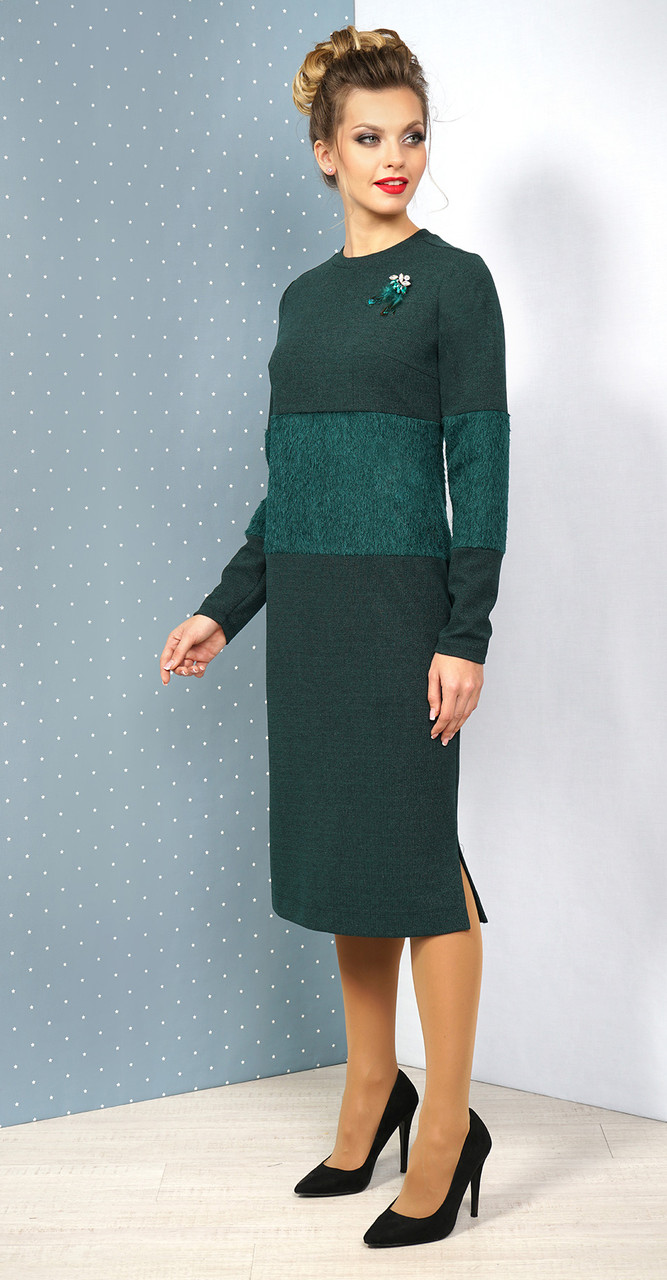 Платье Alani-1061, зеленый, 50