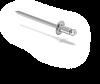 Конструкция навесной фасадной системы с воздушным зазором СКН-СК-004 для облицовки натуральным камнем., фото 5