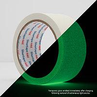 Shurtape P-661 светящийся в темноте 24 мм*9,2 м Glow Tape узкий