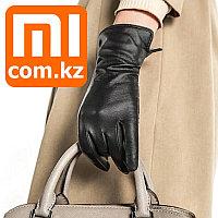 Женские кожаные перчатки для сенсорных экранов XiaoMi Mi Leather Gloves. Оригинал.