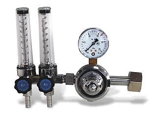 Регулятор давления СО2 2-х колбовый