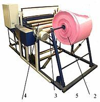 Автоматическая установка производства пакетов из полимерного рукава, полу-рукава, полотна (ПЭ, ПП, ПЭ/ПП)