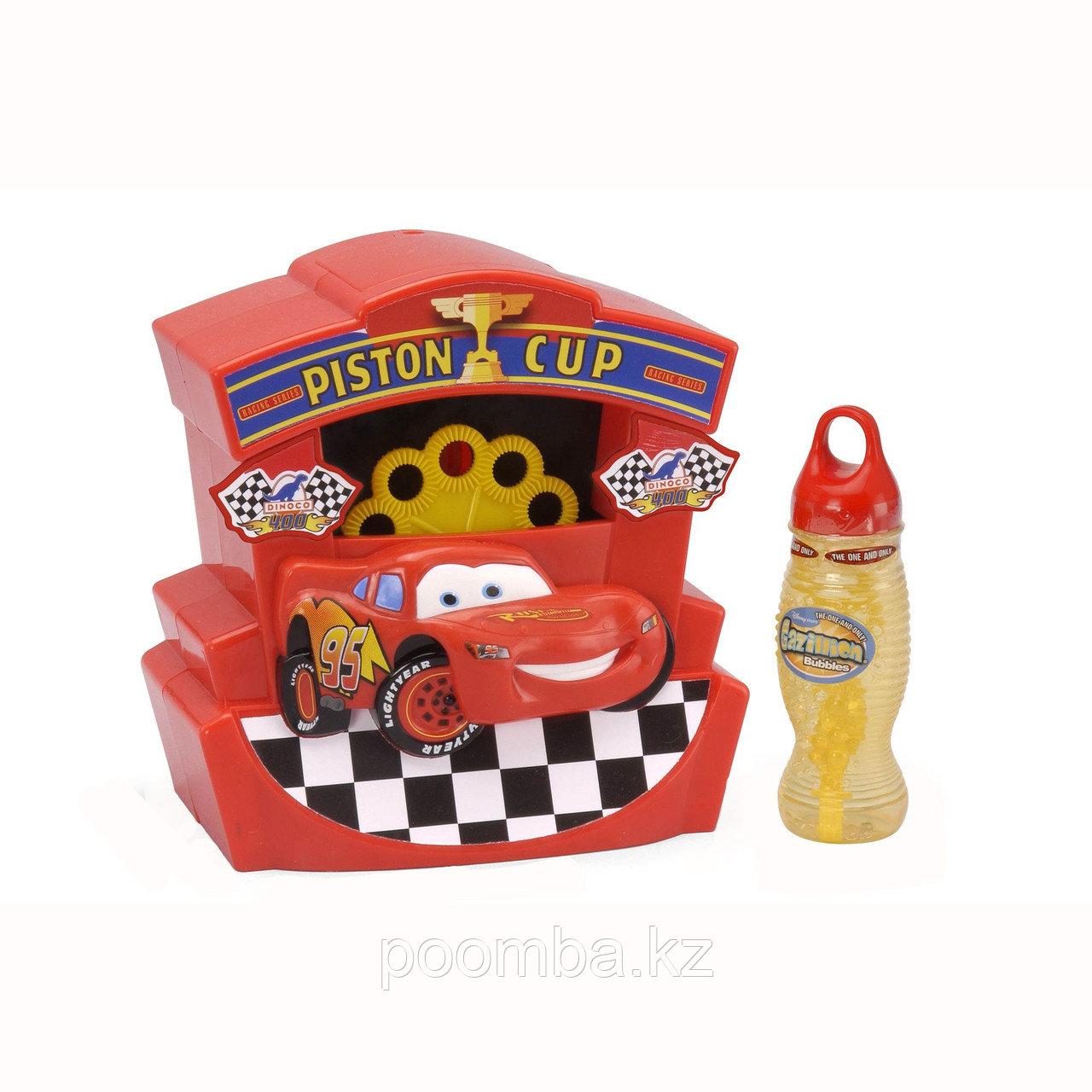 Бабл-машина с символикой Тачки. Мыльные пузыри.