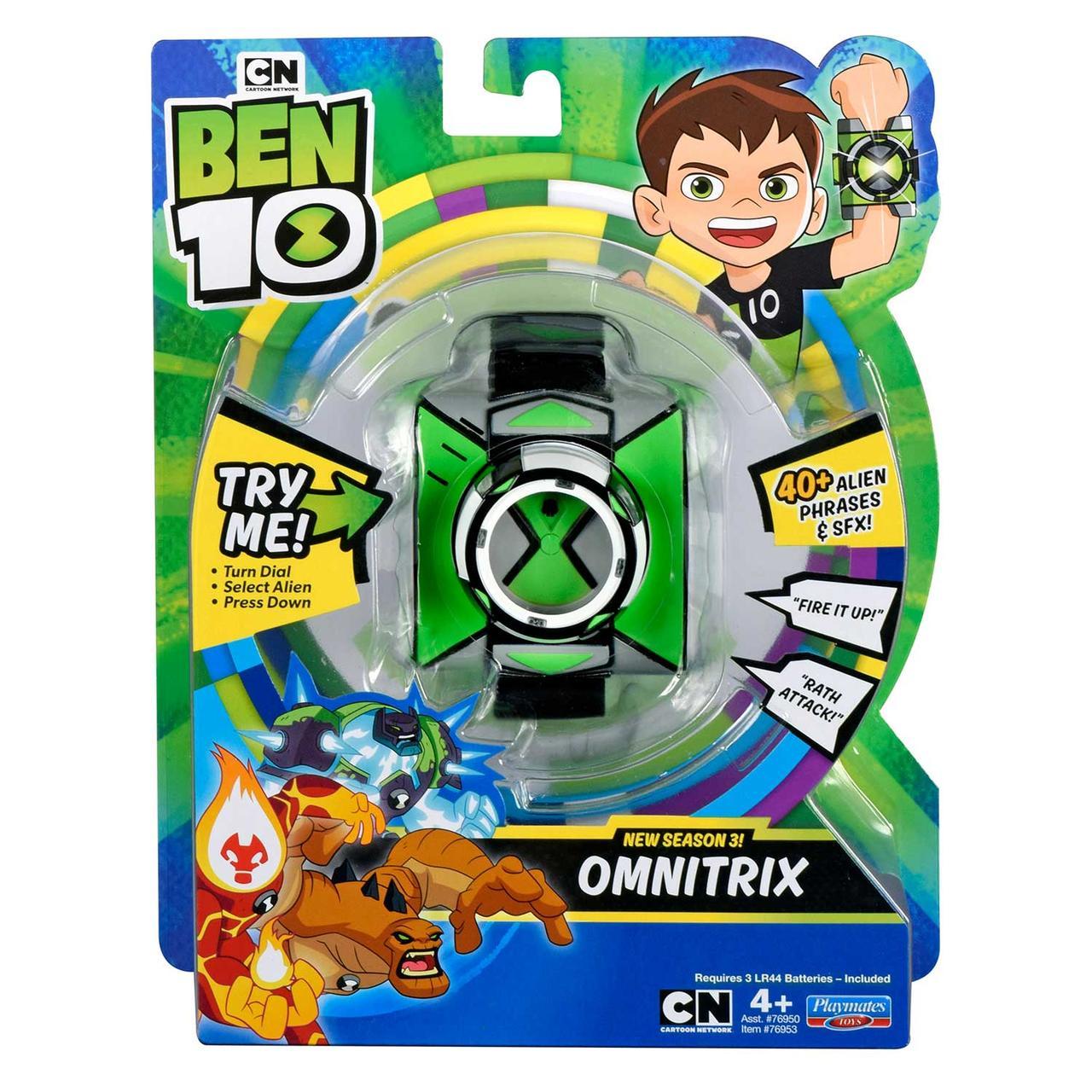 Часы бен тен 10 Ben 10  Омнитрикс  76900