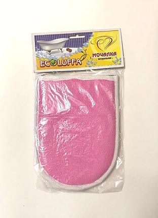 Мочалка красочная рукавица. Мини, фото 2
