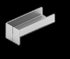 Конструкция навесной фасадной системы с воздушным зазором СЛМ-ОК-002 для облицовки металлокассетами в межэтажн, фото 3