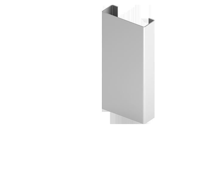 Направляющая Н1  для  подконструкцию  вентилируемого фасада с нержавеющий стали