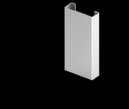 Направляющая Н1  для  подконструкцию  вентилируемого фасада с нержавеющий стали, фото 2