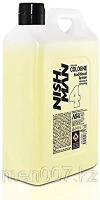Nishman After Shave Cologne 04 (Одеколон после бритья) 1000 мл. (Lemon)