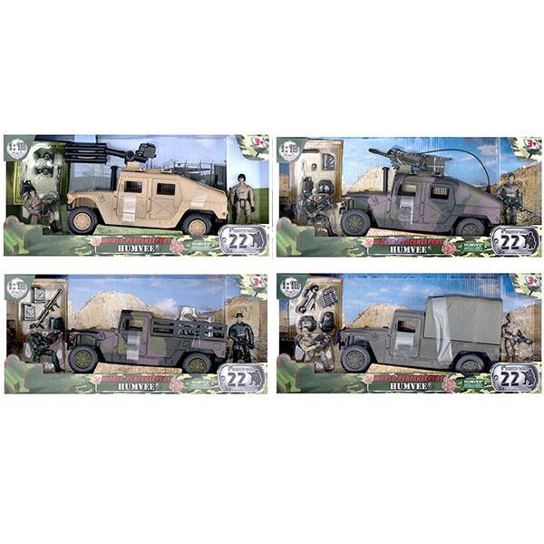 Миротворцы мира Игровой набор Humvee и 2 фигурки военных, в ассортименте
