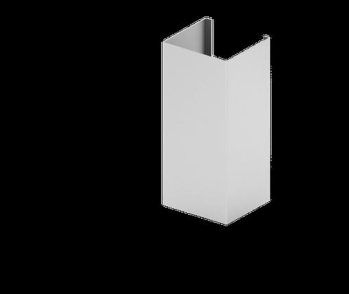 Направляющая усиленная Н3,Н4  для подконструкцию  вентилируемого фасада с нержавеющий стали, фото 2