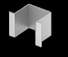 Крепежный элемент  для подконструкцию  вентилируемого фасада с нержавеющий стали