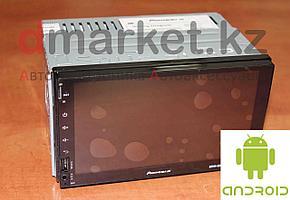 Автомагнитола Android MVH-8077K, 2DIN, 7 дюймов, Wi-Fi, GPS, ОЗУ 1Гб, память 16 Гб
