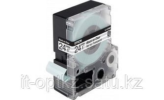 Лента Epson C53S627403 LC6TBN9 Clear Blk/Clear 24/9 C53S627403 (замена C53S656007 )
