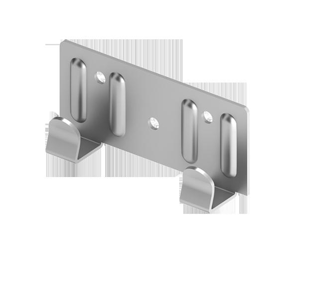 Кляммер концевой для подконструкцию  вентилируемого фасада с нержавеющий стали