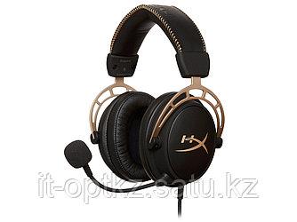 Наушники-гарнитура игровые HyperX HX-HSCA-GD/NAP Cloud Alpha-Gold
