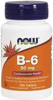 В6, 50 мг, 100 таблеток.