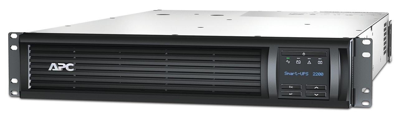 ИБП APC Smart-UPS 2200 ВА с ЖК-индикатором, стоечного исполнения высотой 2U