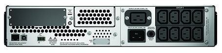 ИБП APC Smart-UPS 2200 ВА с ЖК-индикатором, стоечного исполнения высотой 2U, фото 2