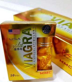 Золотая виагра препарат для потенции 10шт