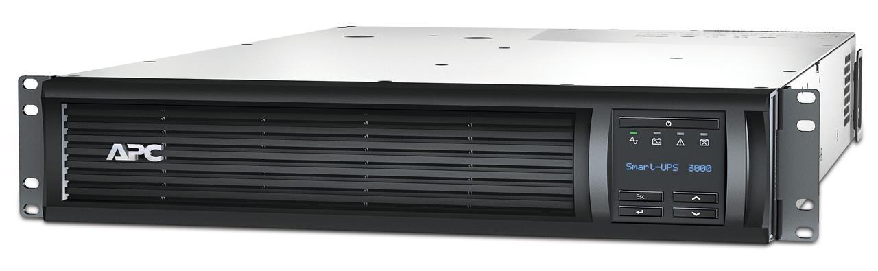 ИБП APC Smart-UPS 3000 ВА с ЖК-индикатором, стоечного исполнения высотой 2U