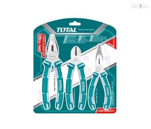 Набор губцевого инструмента Total THT1K0301