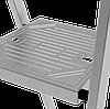Стремянка алюминиевая 130 мм широкая ступень  с лотком органайзером, 3 ступени, фото 6