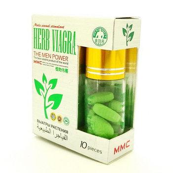 HERB VIAGRA (Растительная Виагра)- средство для повышения потенции 10шт