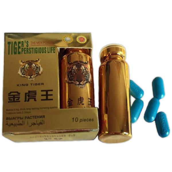 Тигр «Tiger's prestigious life» препарат для повышения потенции 10шт