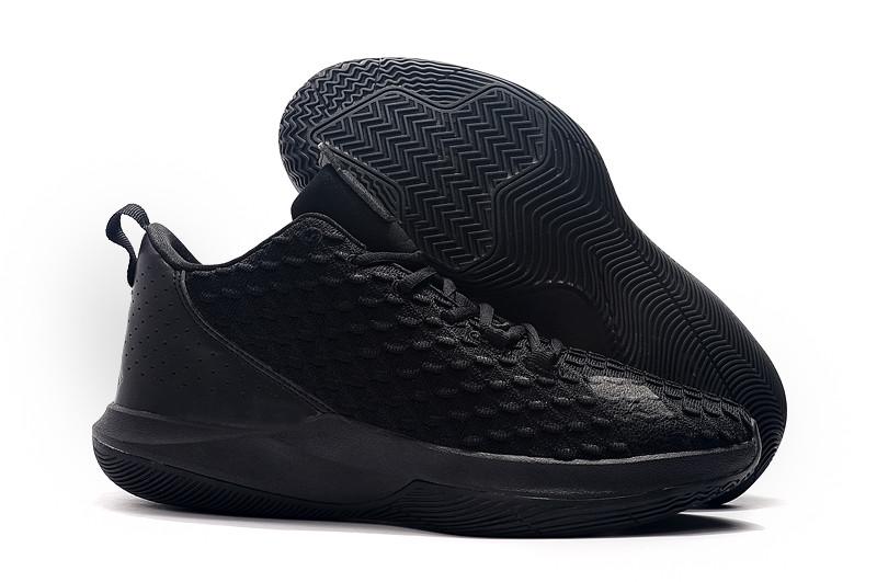 """Игровые кроссовки Air Jordan CP3.XII (12) """"All Black"""" (40-46)"""