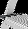 Стремянка алюминиевая, широкая ступень 130 мм, 4 ступени, фото 6