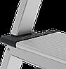 Стремянка алюминиевая, широкая ступень 130 мм с лотком органайзером, 6 ступеней, фото 7