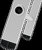 Стремянка алюминиевая, широкая ступень 130 мм с лотком органайзером, 8 ступеней, фото 4
