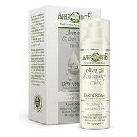 """Успокаивающий защитный дневной крем для лица с защитой от загрязнений окружающей среды """"Aphrodite"""" Греция."""
