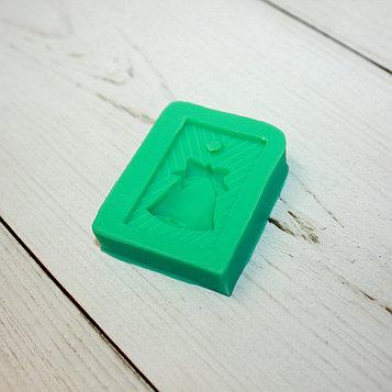 Силиконовая форма молд для мастики (колокольчик)