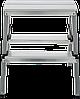 Стремянка двухсторонняя, комбинированная стальная NV 100, 2 ступени, фото 2