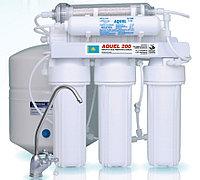 Фильтр для воды с обратным осмосом марки Аквел (Aquel) 200 - 6 ст с насосом