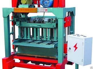 Машина для изготовления шлакоблоков QMT4-35А
