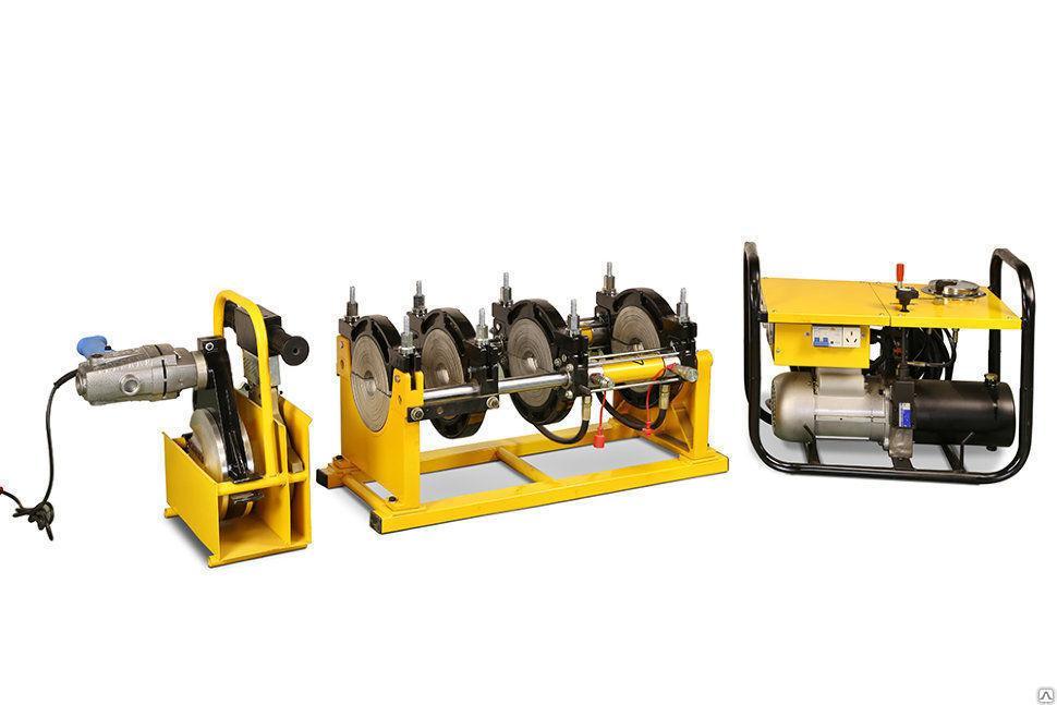 Аппарат гидравлический для стыковой сварки пластиковых труб от 160мм до 315мм