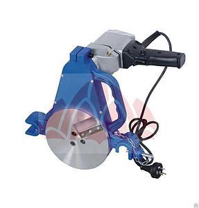 Утюг нагреватель для стыковой сварки пластиковых труб