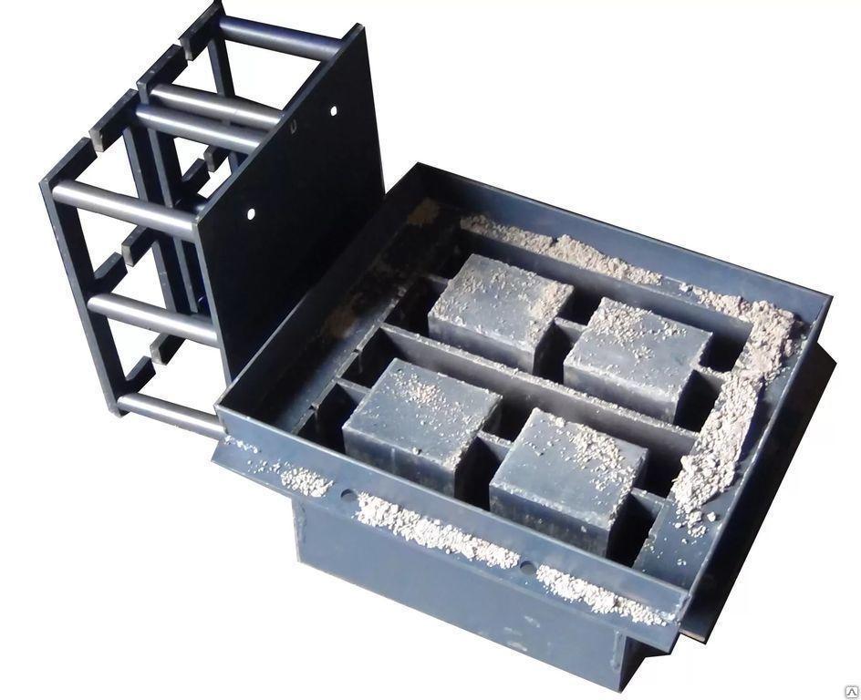 Матрица для станка шлакоблочного QMT4-35А