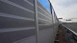 Шумозащитная антивандальная панель