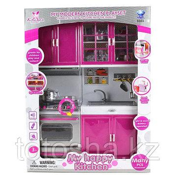 Кухня 66037-5 со световыми и звуковыми эффектами.