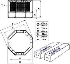 Батут Leco-IT Outdoor Plus с ограждением диам. 470 см, фото 2