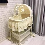 Детская колыбель кроватка для новорожденных 4 в 1  PL501, фото 3