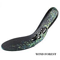 Магнитные стельки мужские Лесной ветер