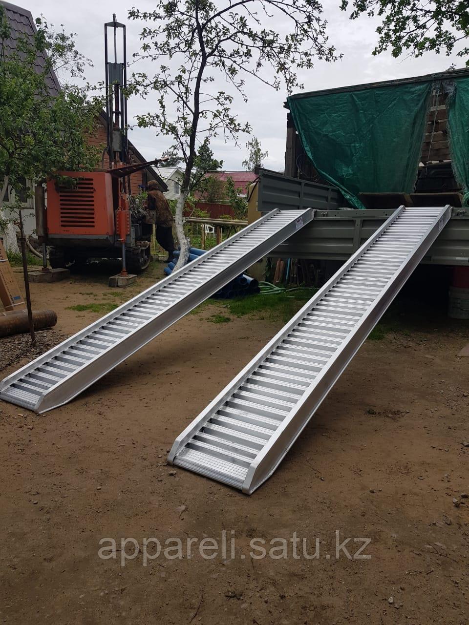 Алюминиевые трапы 5200 кг, 3 метра, 350 мм